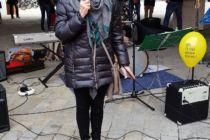 Gudrun Rihl von der Ingolstädter Amnesty-Gruppe