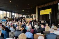 Stadttheater Foyer am Tag der Menschenrechte 2019