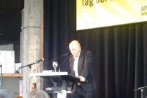 Schriftsteller Gert Heidenreich beim Tag der Menschenrechte 2015 in Ingolstadt