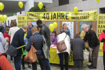 Infostand 40 Jahre Amnesty Ingolstadt