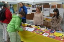 Der Amnesty-Infostand beim Afrikafest Ingolstadt 2015