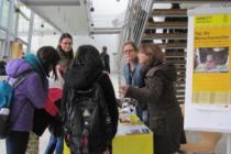 Infostand Amnesty Ingolstadt an er Technischen Hochschule
