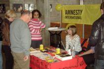 Amnesty Ingolstadt beim Tag der Frau im Stadttheater